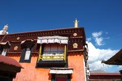 Costruzione tibetana Fotografia Stock