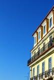 Costruzione tipica di Lisbona Fotografie Stock Libere da Diritti
