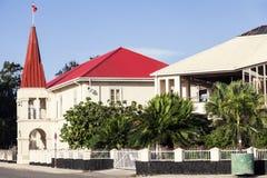 Costruzione tongana del Parlamento nel alofa del ` di Nuku Fotografia Stock