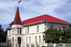 Costruzione tongana del Parlamento in Nuku'alofa Immagini Stock Libere da Diritti