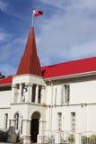 Costruzione tongana del Parlamento in Nuku'alofa Fotografia Stock Libera da Diritti