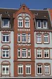 Costruzione tradizionale di apartement, Fotografia Stock Libera da Diritti