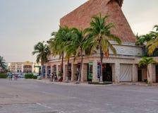 Costruzione tropicale del turismo fotografia stock