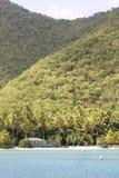 Costruzione tropicale dell'isola Immagine Stock Libera da Diritti