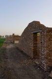 Costruzione in un villaggio Fotografia Stock Libera da Diritti