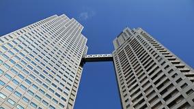 Costruzione up-stair moderna Immagine Stock