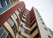Costruzione urbana moderna Fotografia Stock