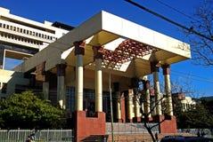 Costruzione in Valparaiso, Cile del congresso nazionale immagini stock