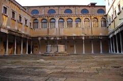 Costruzione a Venezia immagini stock libere da diritti