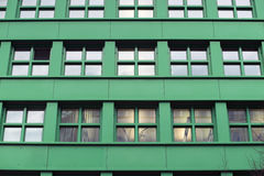 Costruzione verde fotografie stock libere da diritti