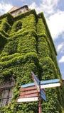 Costruzione verde Fotografie Stock