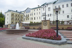 Costruzione a Vitebsk, Bielorussia Fotografia Stock