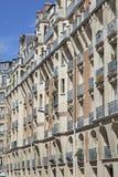 Costruzione vivente tradizionale, Parigi Immagini Stock