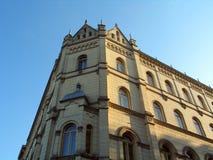 Costruzione a Zagabria Fotografia Stock Libera da Diritti