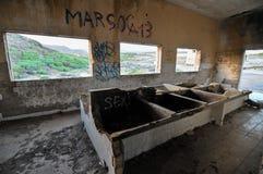 Costruzioni abbandonate Fotografie Stock Libere da Diritti