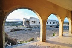 Costruzioni abbandonate Fotografia Stock
