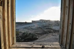 Costruzioni abbandonate Immagine Stock