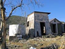Costruzioni abbandonate del ranch Immagine Stock