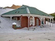 Costruzioni abbandonate nella baia di Hout, Sudafrica Fotografia Stock