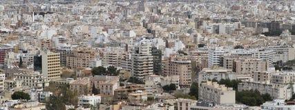 Costruzioni ad alta densità di residentials Fotografia Stock