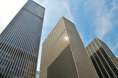 Costruzioni alte del grattacielo Fotografie Stock