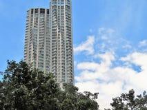 Costruzioni alte del grattacielo Immagini Stock