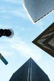 Costruzioni alte della città Fotografia Stock Libera da Diritti