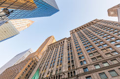 Costruzioni alte della città Ufficio e concetto di affari Fotografia Stock Libera da Diritti