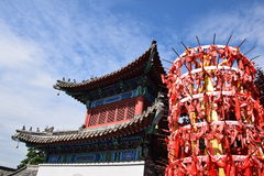 Costruzioni antiche in Cina Fotografie Stock Libere da Diritti