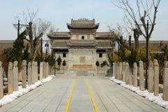 Costruzioni antiche cinesi Fotografie Stock
