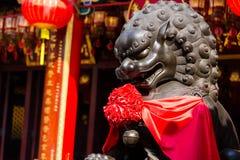 Costruzioni antiche cinesi Immagini Stock Libere da Diritti