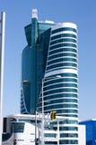Costruzioni a Astana fotografie stock libere da diritti