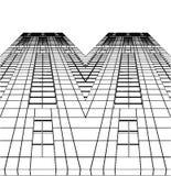 Costruzioni astratte del vettore 75 del grattacielo Fotografie Stock Libere da Diritti