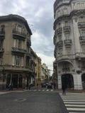 Costruzioni a Buenos Aires Fotografia Stock Libera da Diritti