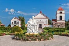 Costruzioni cattoliche nella città Mosar. Fotografie Stock Libere da Diritti