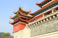 Costruzioni cinesi Fotografie Stock Libere da Diritti
