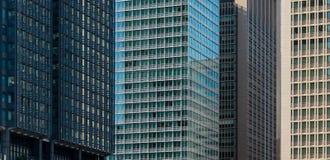 Costruzioni in città Fotografie Stock
