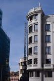 Costruzioni classiche ed eleganti Fotografia Stock