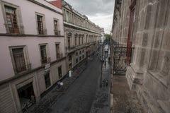 Costruzioni coloniali fotografie stock libere da diritti