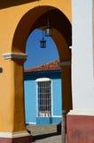 Costruzioni coloniali in Trinidad, Cuba Immagine Stock Libera da Diritti