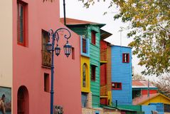 Costruzioni colorate Fotografia Stock