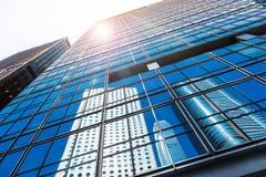 Costruzioni commerciali Fotografia Stock Libera da Diritti