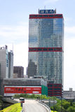 Costruzioni commerciali a Hong Kong Immagine Stock Libera da Diritti