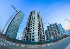 Costruzioni concrete giganti Immagini Stock Libere da Diritti