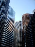 Costruzioni corporative Fotografie Stock Libere da Diritti