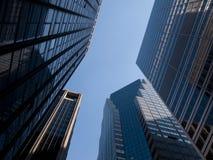 Costruzioni corporative a Manhattan, NY Fotografia Stock