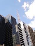 Costruzioni corporative moderne Fotografie Stock