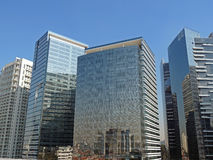 Costruzioni corporative moderne Fotografia Stock