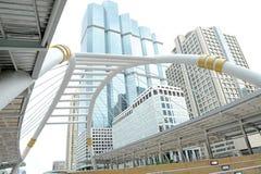 Costruzioni corporative nella prospettiva Fotografia Stock