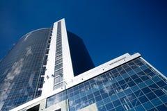 Costruzioni corporative nella prospettiva Immagine Stock